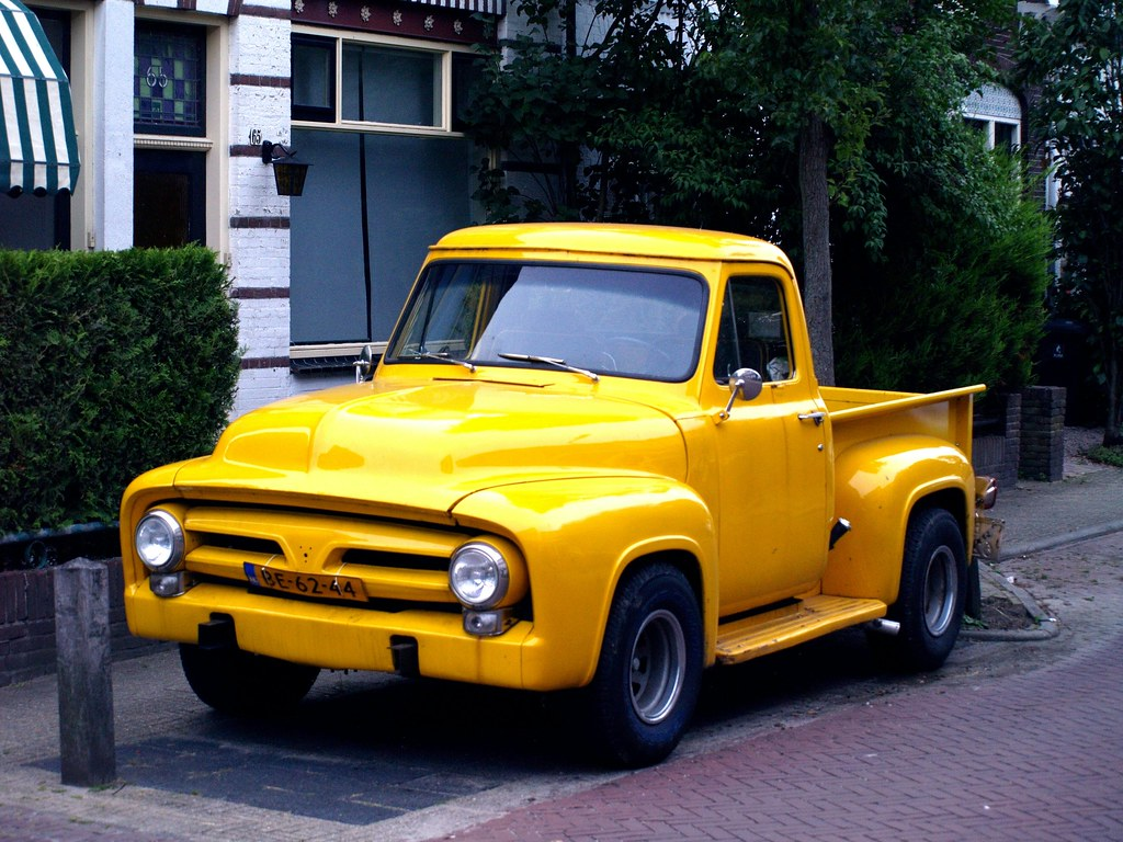 1955 Ford F100 Pick Up Bouwjaar Mo Flickr By Vriendelijkheid Kost Geen Geld