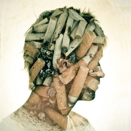 Double exposure // MIND OVER MATTER (thanks 100+ favs) | by •DΛN MOUNTFORD•
