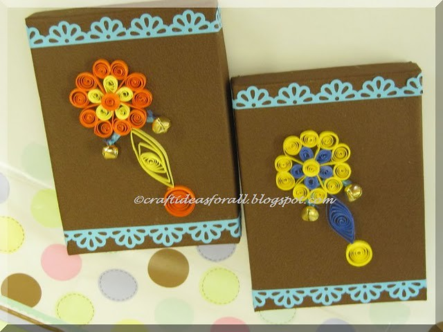 Baby Shower Favor Boxes Paper Quilling Paper Quilled Baby Flickr