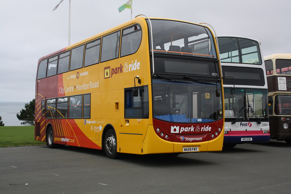 Honiton Road Park And Ride >> Red Park and Ride | Stagecoach South West Enviro 400 ...