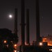 3/4 Moon and Four Stacks