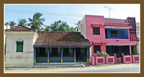 Tanjore rural houses the old and the new makes an for Tamilnadu house images