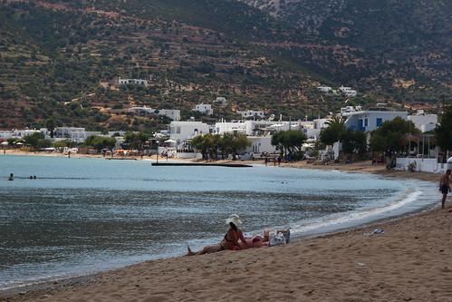 Platis Gialos Beach Restaurants