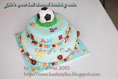 Ball Themed Birthday Cakes Cake Sports Ball Themed