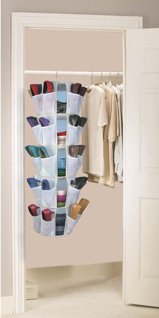 Ordinaire ... 40 Pocket Hanging Shoe Organizer | By Tszuji