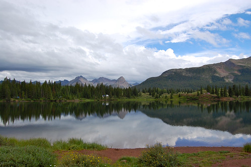Molas Lake campground | by Seedpod