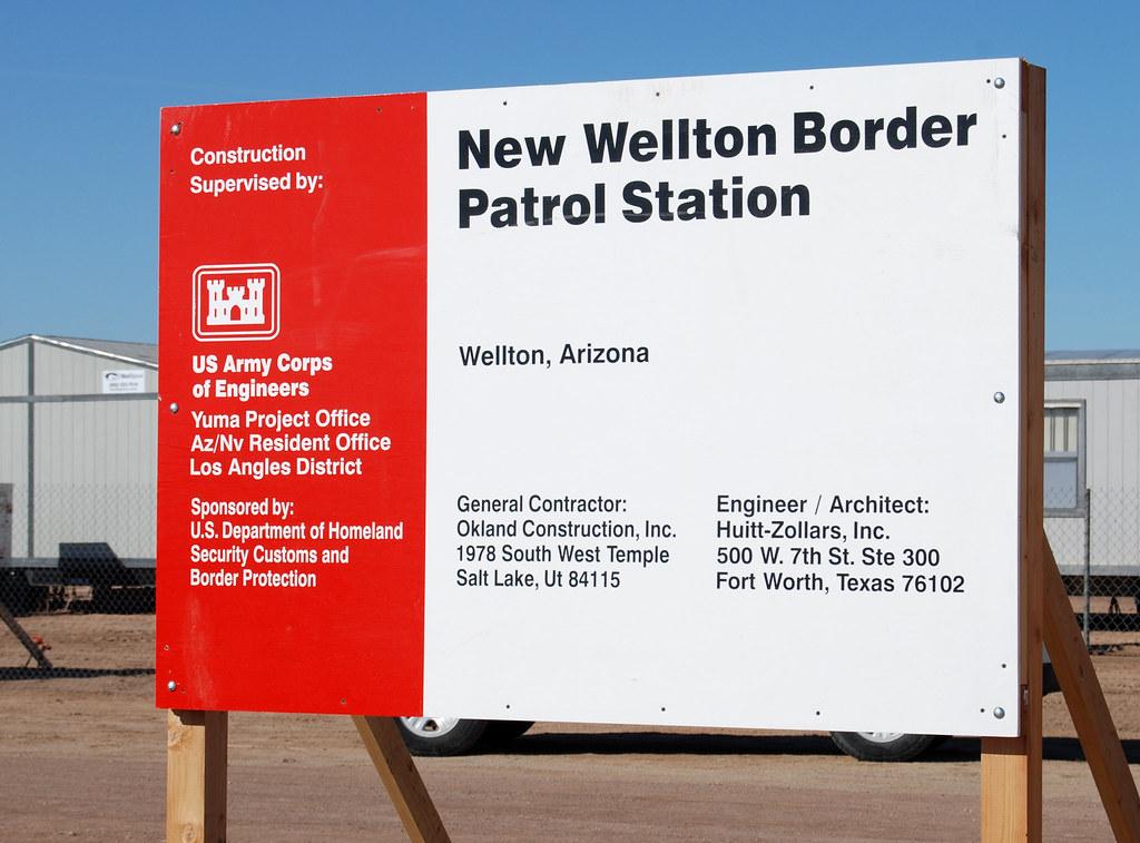 U S Border Patrol  >> Wellton Border Patrol Station Groundbreaking | This is the ...