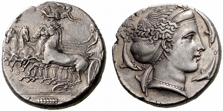 G247 A Rare and Exceptional Greek Silver Tetradrachm of Sy ...