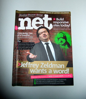 I got the new issue of .net magazine in the post! | by Chris Hester