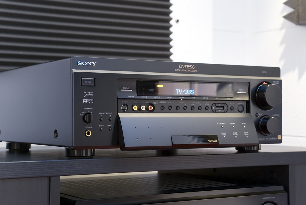 Sony Es Str Da90esg 1998 Top Of The Line In 1998 This