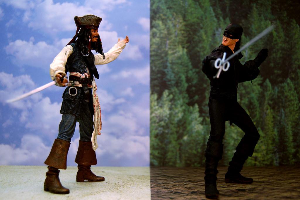 Captain Jack Sparrow vs. Dread Pirate Roberts (230/365 ...