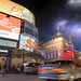 The Kitsch, Cool, Chemical Clouds Of Piccadilly Circus (London, England)