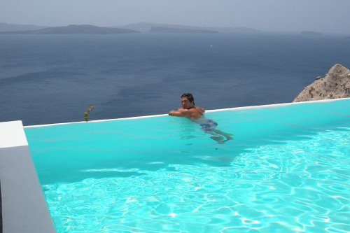 Infinity pool santorini flickr photo sharing - Santorini infinity pool ...
