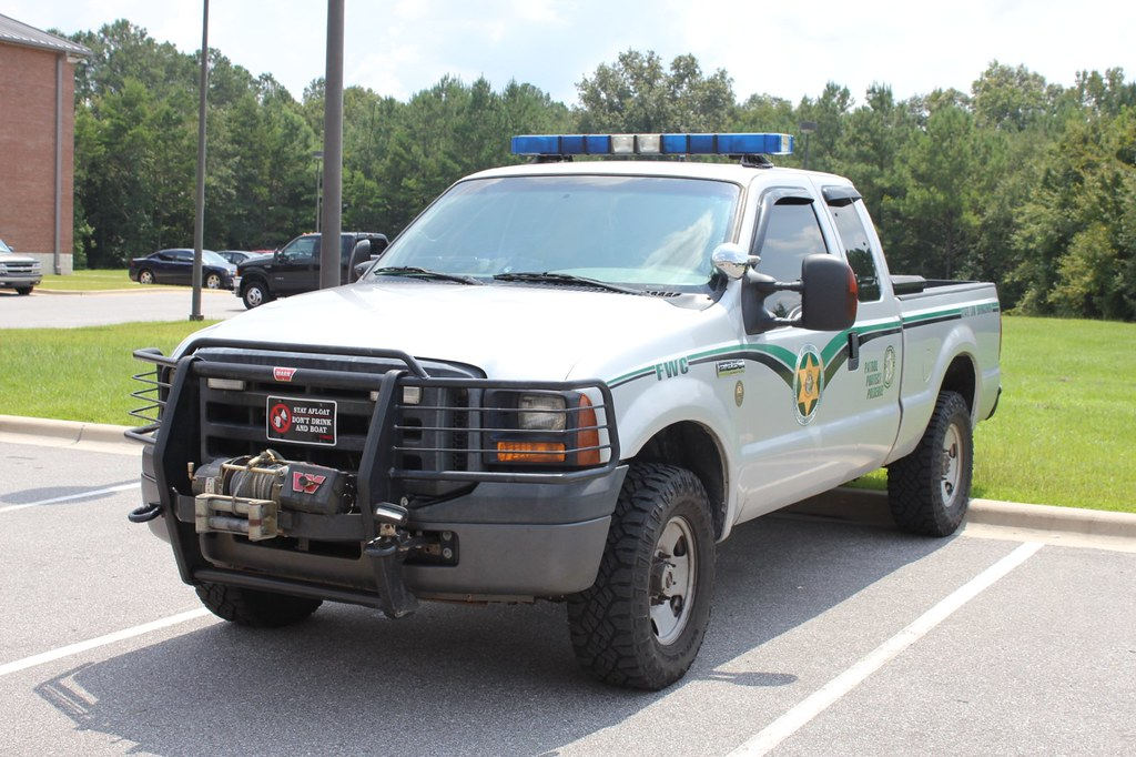 Florida fish wildlife commission fwc ford f250 truck for Florida game and fish