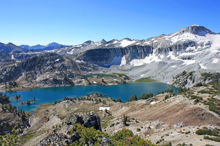 Glacier Lake Eagle Cap Wilderness