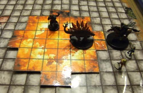 fireball battlemap d d template miniatures fireball b flickr