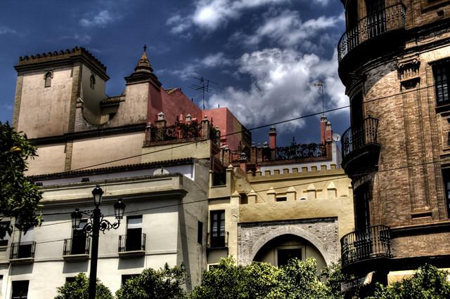 Seville building edificios de sevilla buildings at the - Garden center sevilla ...