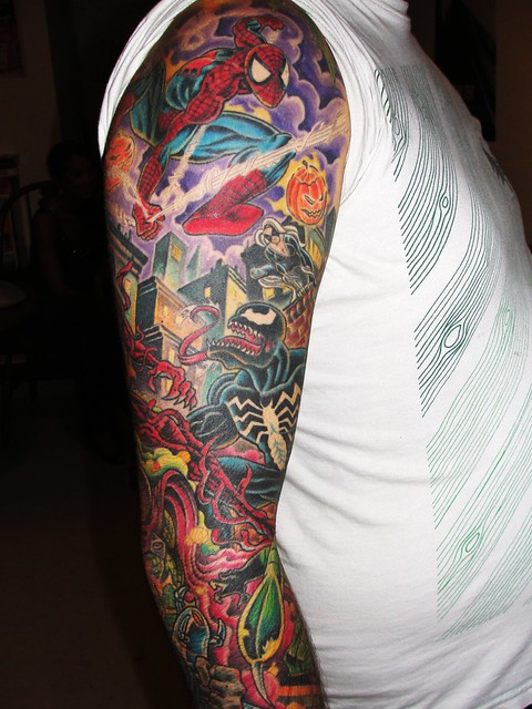 spiderman tat 1 flickr photo sharing