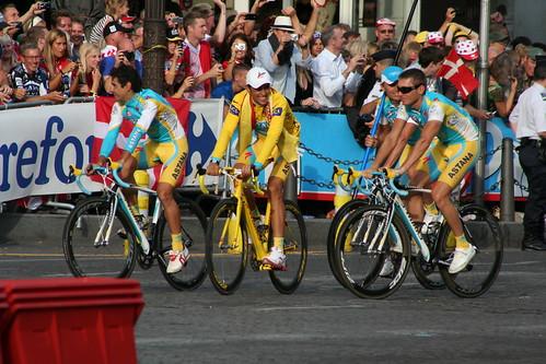 Alberto Contador & Team Astana