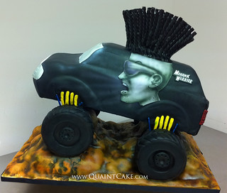 Monster Truck Cake Pan D