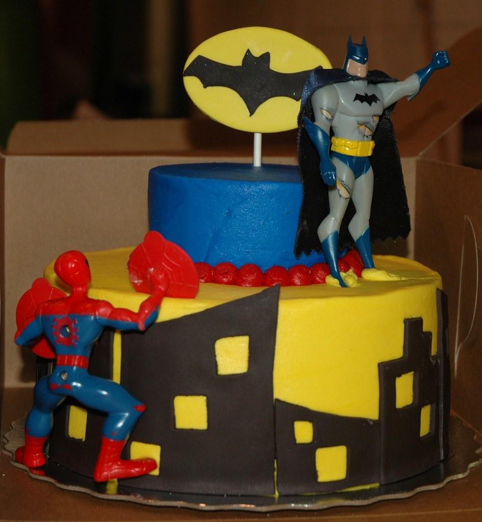 Batman Fondant Cake Ideas