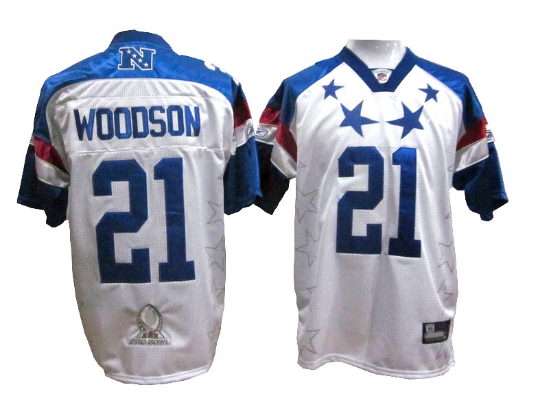 huge selection of 4801b 44b91 Green Bay Packers #21 Charles Woodson 2011 Pro Bowl Premie ...