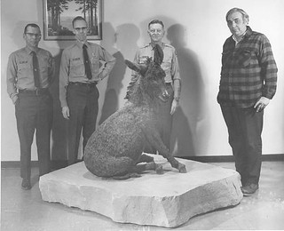 "05139 Grand Canyon ""Brighty"" Sculpture with Creator and Rangers 1967 