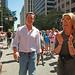 Mayor Newsom attends the 40th San Francisco Pride Parade Celebration