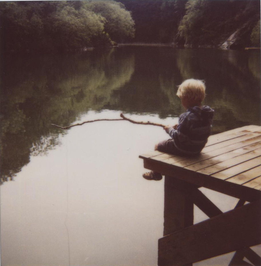 ted fishing on film i think this polaroid might just be flickr ted fishing on film by emma bradshaw