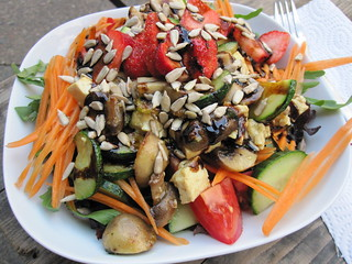 Surprise Salad | by veganbackpacker