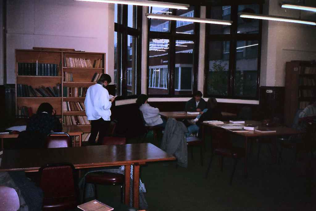 QUB Music Department Library, 1985 | Flickr - Photo Sharing!