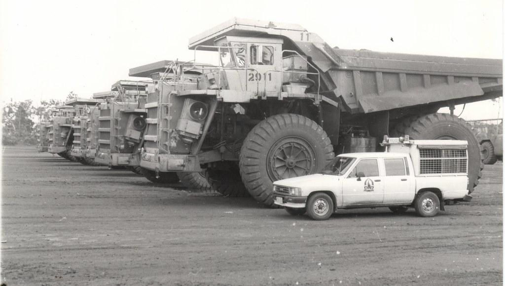 Wabco Dump Trucks Mine Dump Trucks Groote Eylandt