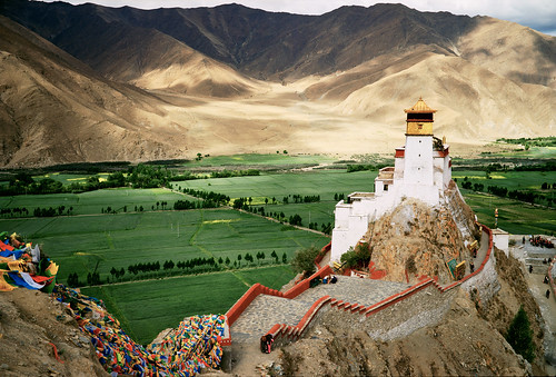 Yumbulhakang, Tibet's First King's Castle | by lylevincent