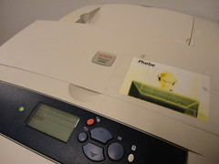 color laser printer - xerox phaser 8550