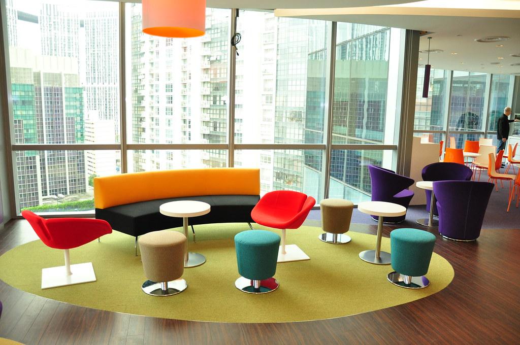 Yahoo sea new office graham hills flickr for One room office interior design