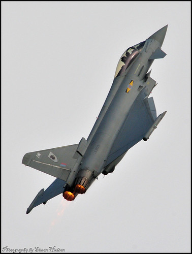 Waddington International Airshow 2010 - RAF Eurofighter Typhoon | by Si 558