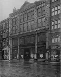 hmv 363 Oxford Street, London - Front elevation pior to store - 9th January 1921.