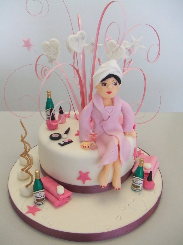 Pamper Party Cake Images : CAKE - luxury spa day by Jules Jules enquiries ...