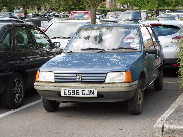 1988 peugeot 205 954cc xe hatchback this is what id say is flickr photo sharing. Black Bedroom Furniture Sets. Home Design Ideas
