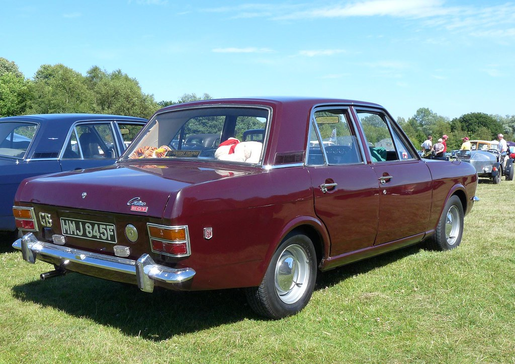 Ford Cortina Mkii 1600 Gt 1968 Bentley Wildfowl Classic