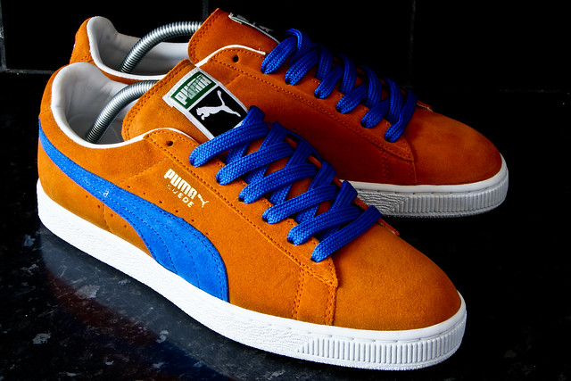 Puma Suede Blue And Orange wearpointwindfarm.co.uk ae2290984f56