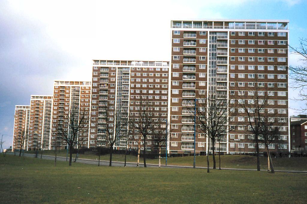 Council Flats Great King Street Hockley Birmingham Apr