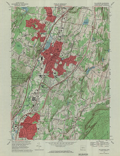 Wallingford Quadrangle 1967 - USGS Topographic Map 1:24,000 | by uconnlibrariesmagic