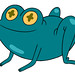 The Lumpy Space Portal Frog : Adventure Time (With Finn and Jake)