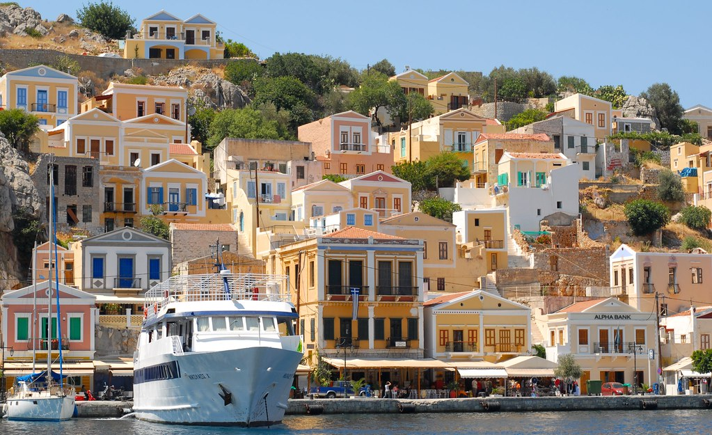 Port of Symi, Afternoon