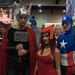 Avengers: Thor, Scarlet Witch and Captain America