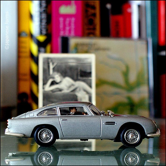 On My Desk 56 James Bond S Aston Martin Db5 Japanese