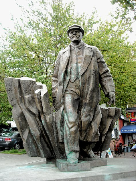Lenin Statue In Seatle Is This Private Property Or Pblic