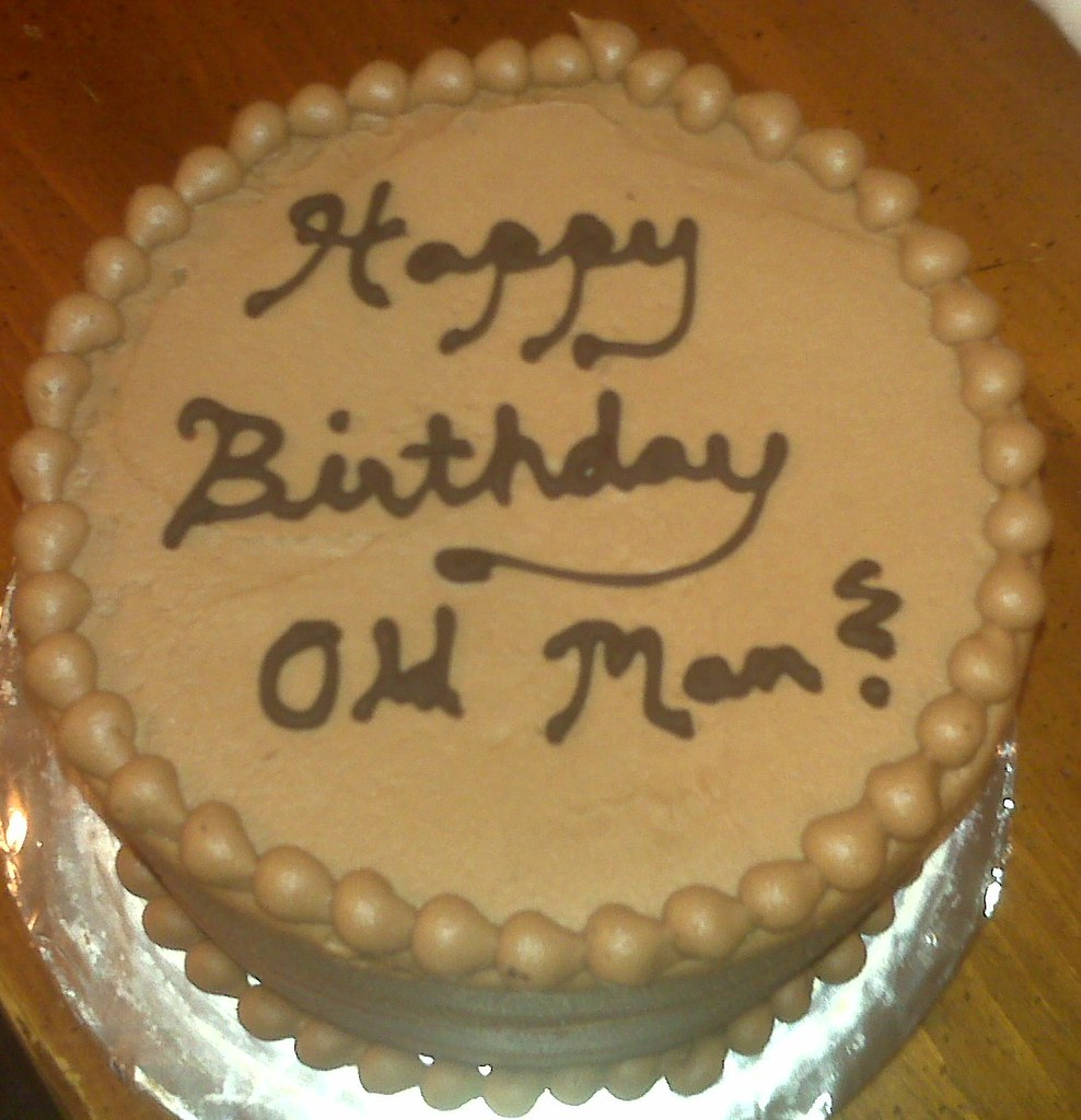 Old Man Birthday Cake Old Man Birthday Cake Flickr