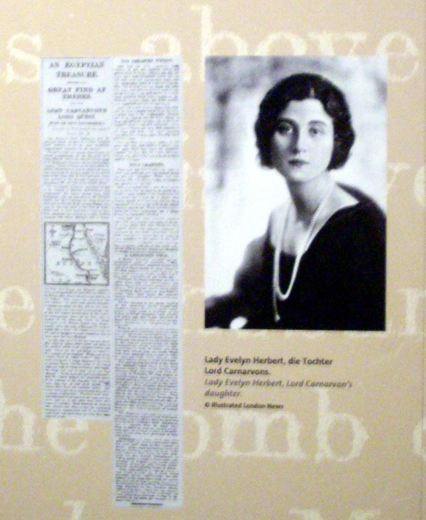Lady Evelyn Herbert | daughter of Lord Carnarvon | Viltis ...